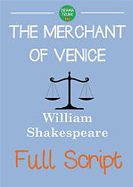 MERCHANT OF VENICE Printable Shakespeare Play Script