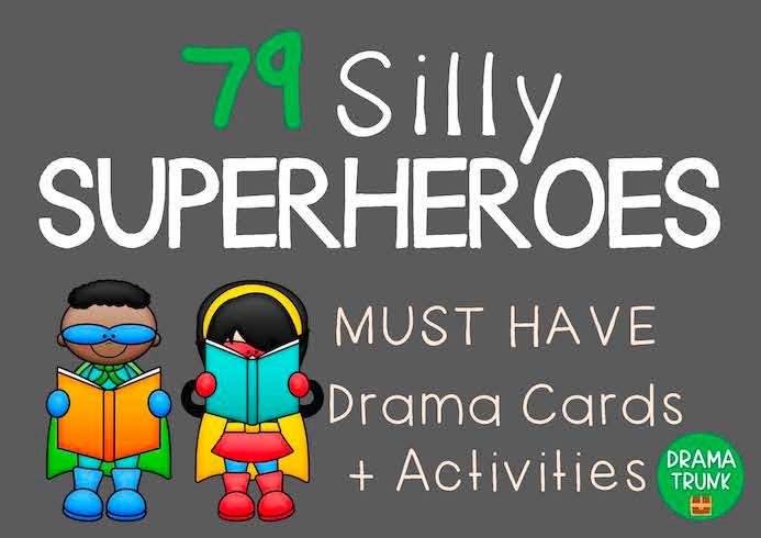 Drama games for preschoolers to grade 2