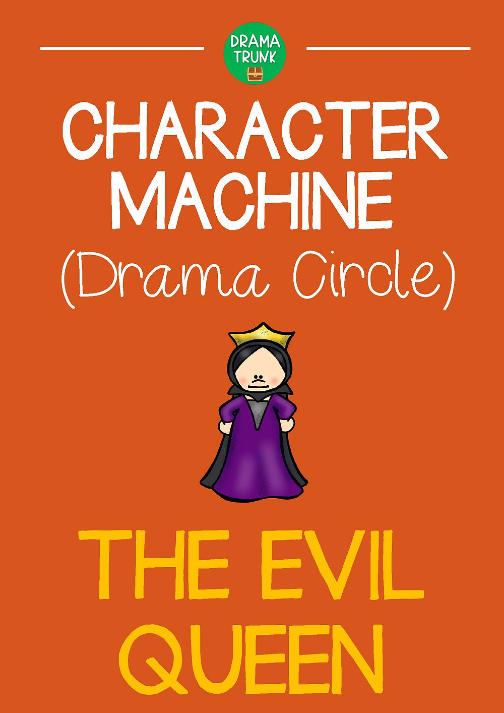 EVIL QUEEN Drama Circle Readers Theater Acting Script for Kids and Teens