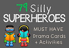 Silly Superheroes Role Play Cards