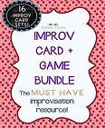 Theatre Improv Games