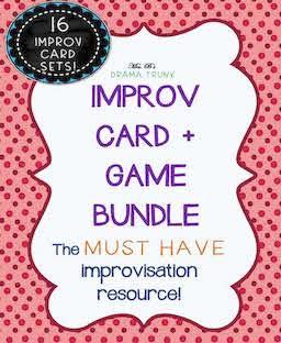 IMPROV THEATRE GAMES + PROMPTS BUNDLE