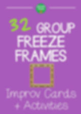 Freeze Frames teaching improv resource