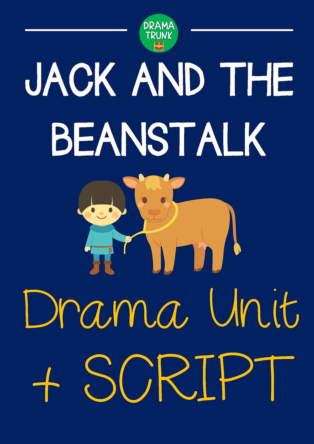 Jack and the Beanstalk Lesson Plans and Script for Kids