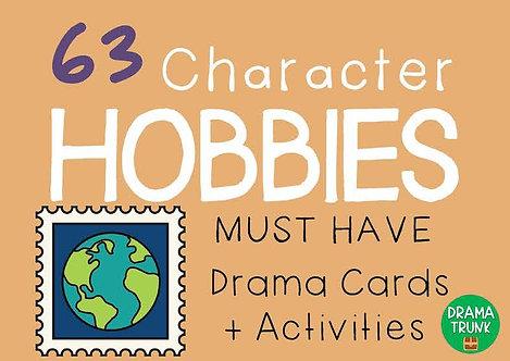 CHARACTER HOBBIES