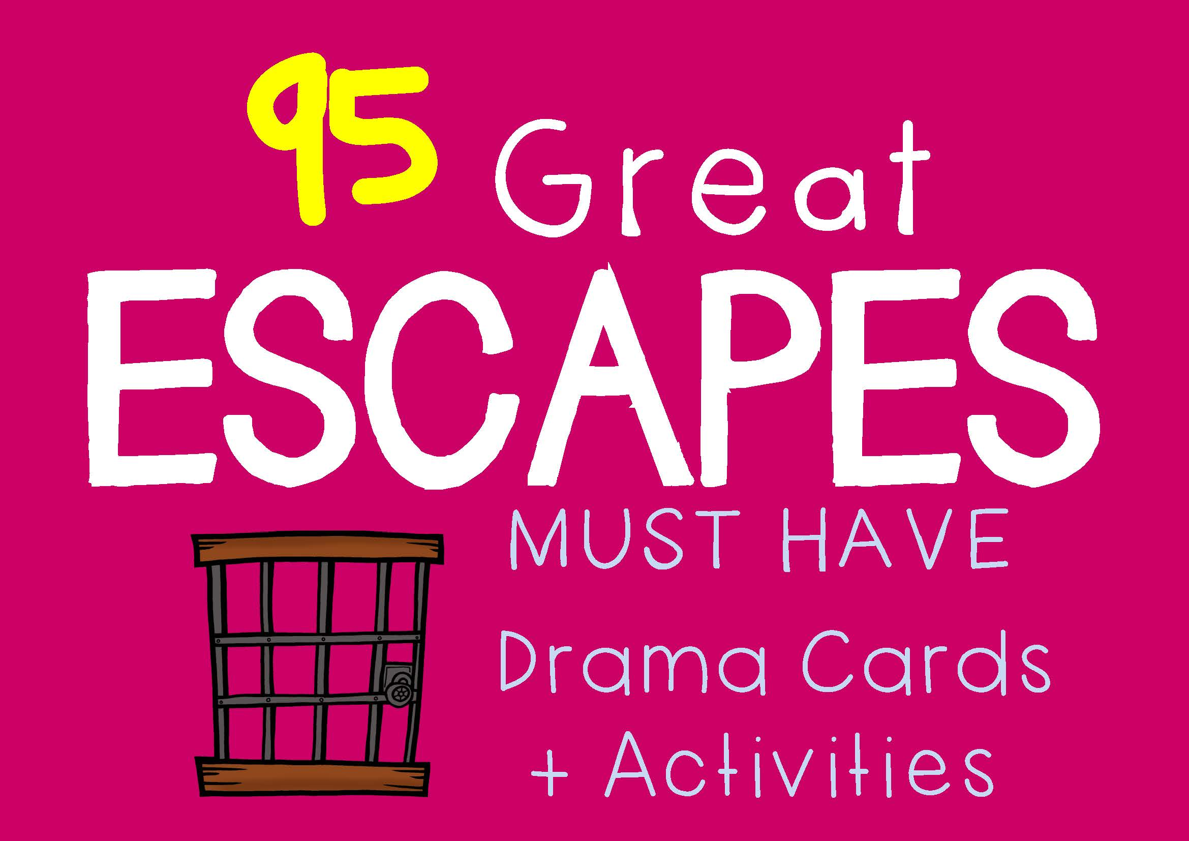 Drama Cards GREAT ESCAPES
