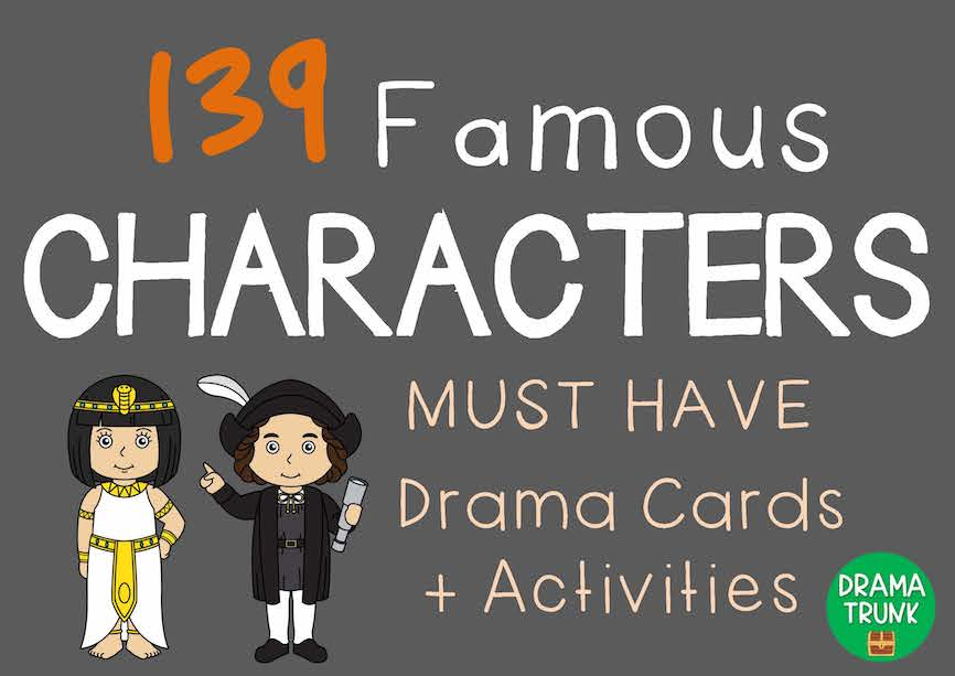 Character Cards for drama