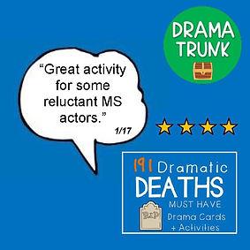 Drama Cards