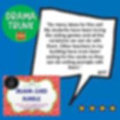 Drama Middle School Curriculum
