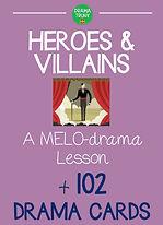 Melodrama lesson plan