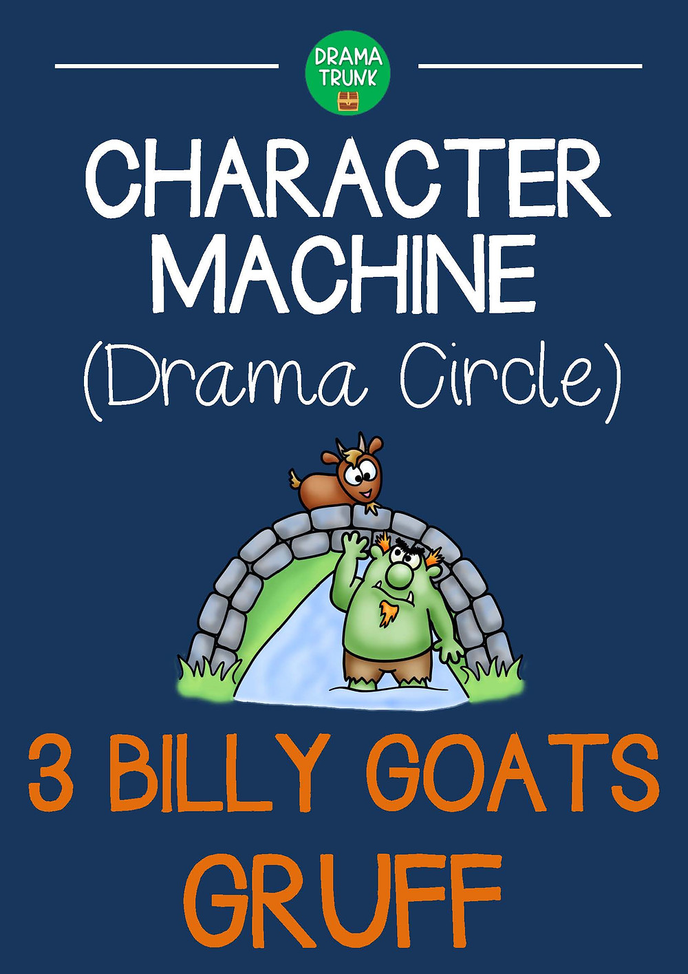 BILLY GOATS GRUFF Drama Circle Readers Theatre Acting Script for Kids