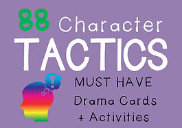 Character Tactics Drama Cards + Suggested Drama Activities