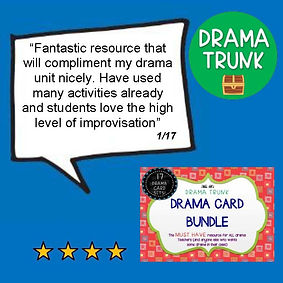 Drama Middle School Resources