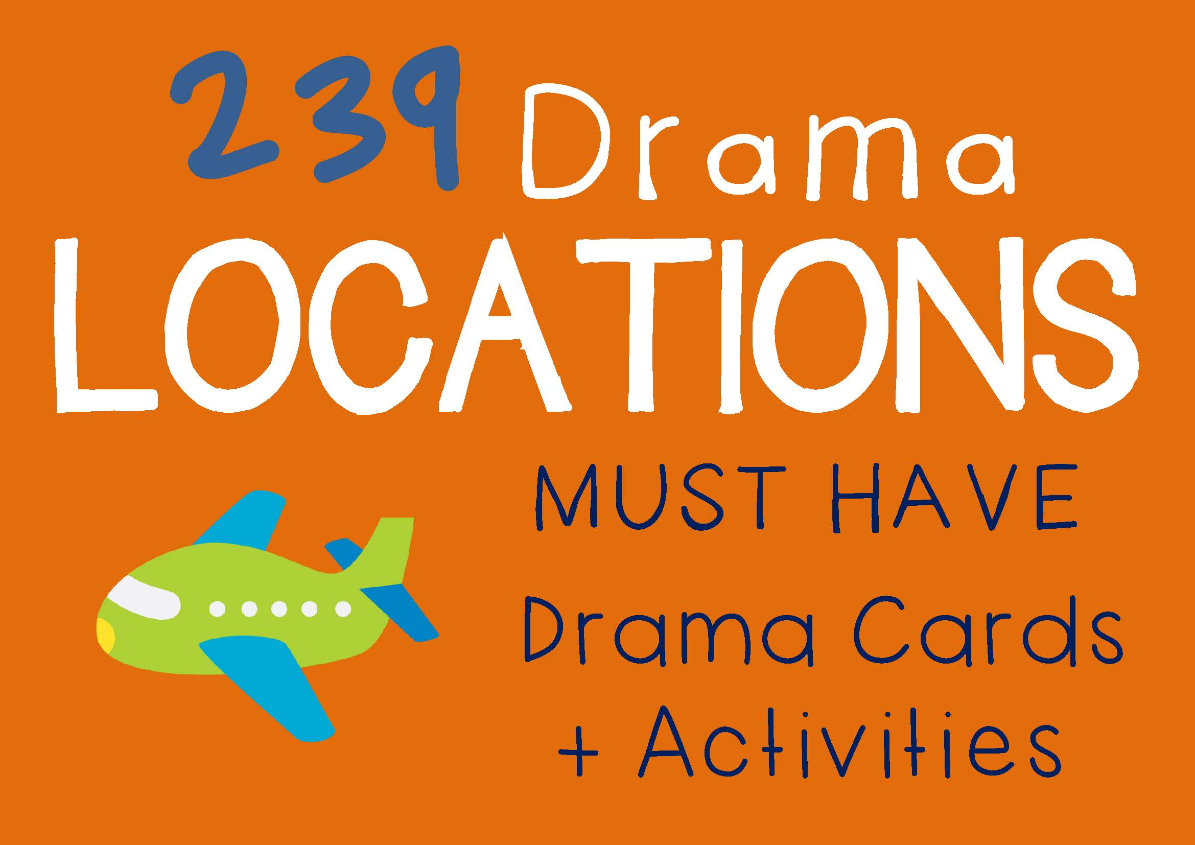Drama Trunk LOCATIONS Drama Cards and Activities