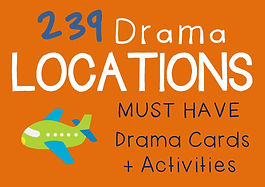 Drama Cards and Activities : Location Cards