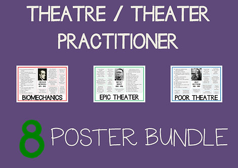 THEATRE PRACTITIONER Posters