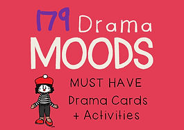 Drama Cards and Activities : Mood (Emotion) Cards