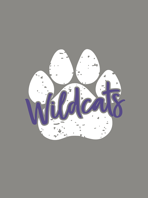 Adult & Youth - Wildcat Paw Sweatshirt