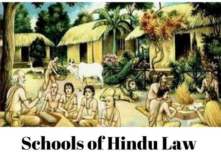 Schools of Hindu Law