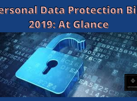 Personal Data Protection Bill, 2019: At Glance