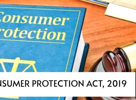 Introduction of The Consumer Protection Act, 2019
