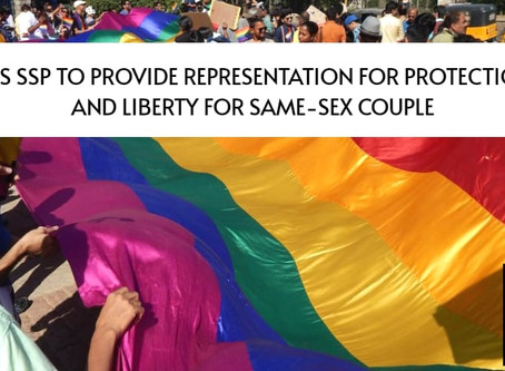 P&H HC Orders SSP To Provide Representation for Protection of Life And Liberty For Same-Sex Couple