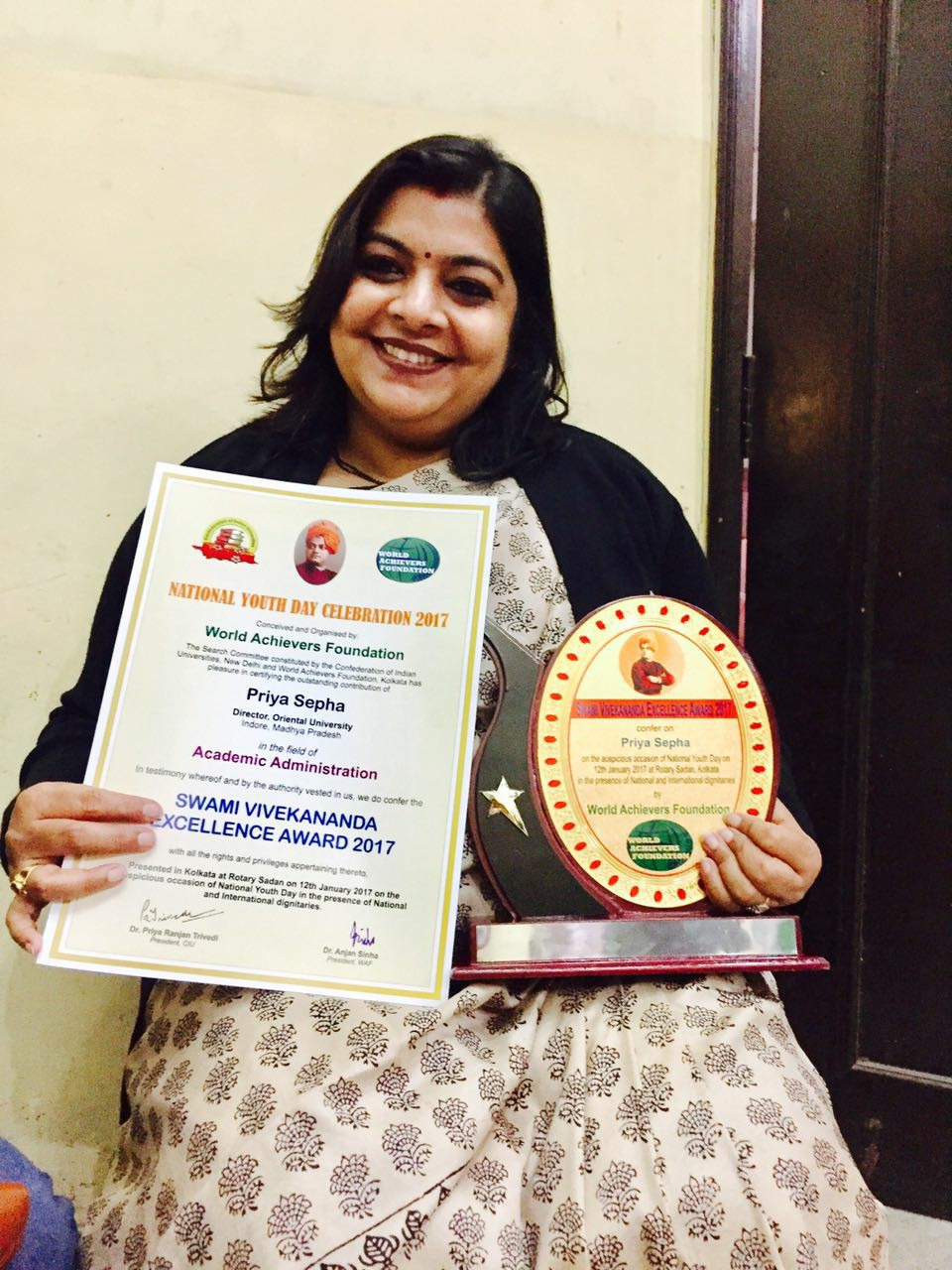 certificates and award