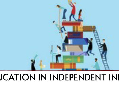 EDUCATION IN INDEPENDENT INDIA