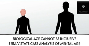 Biological Age cannot be inclusive of Mental Age