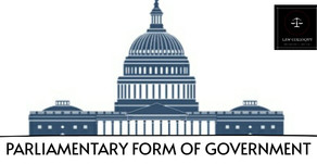 Parliamentary form of Government