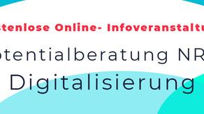 RunDeer Informationsveranstaltung über die Potenzialberatung NRW Digitalisierung