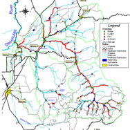 Trout Creek Watershed Map