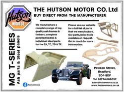 Hutson MG Advert 2020
