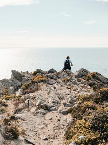David unterwegs in der Bretagne