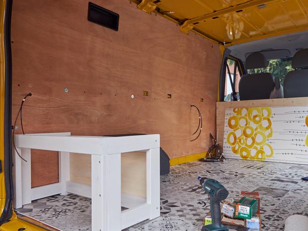 Schritt 5 - Bett bauen
