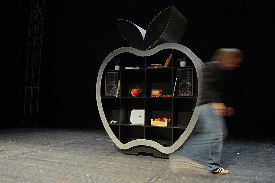 Die Agonie & die Ekstase des Steve Jobs - Staatstheater Mainz by natalie krautkraemer