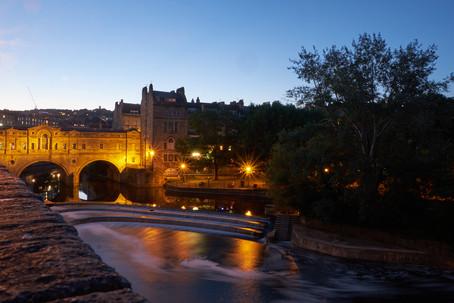 Bath bei Nacht