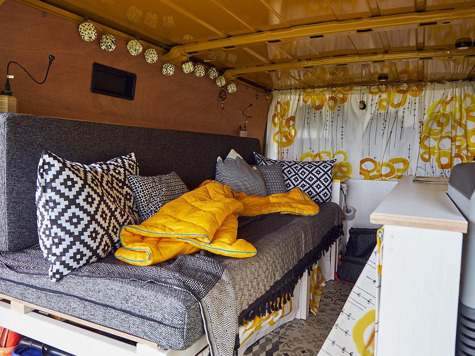 Ausbaustand Campervan 2018