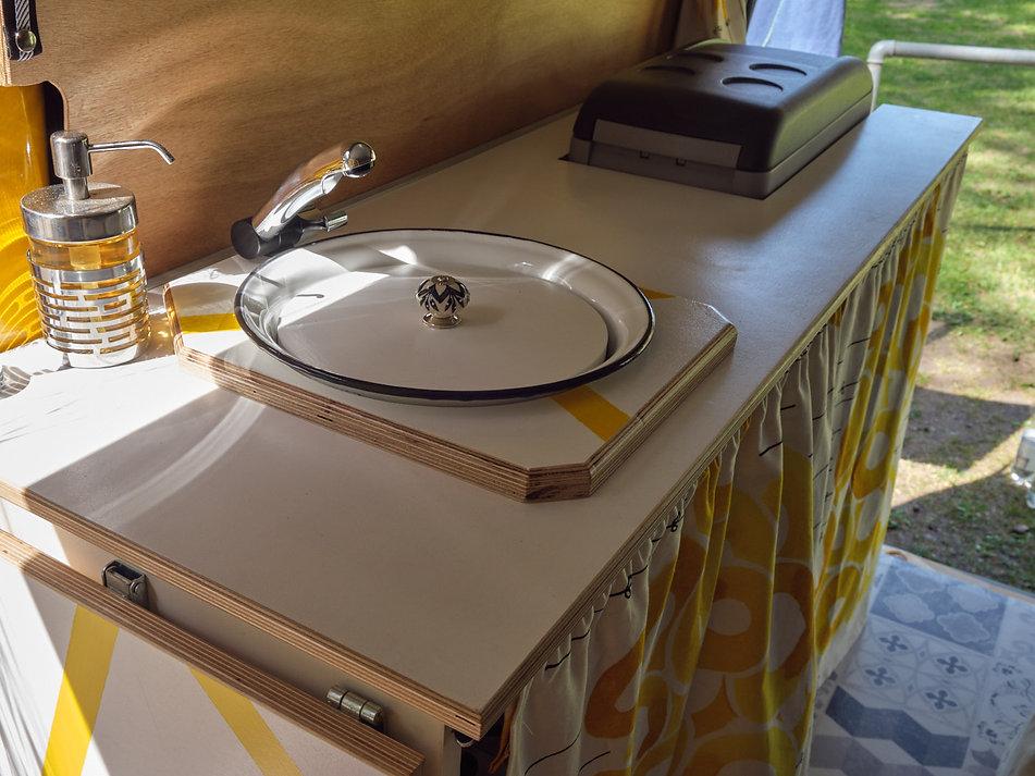 diy Campervan Küchenzeile