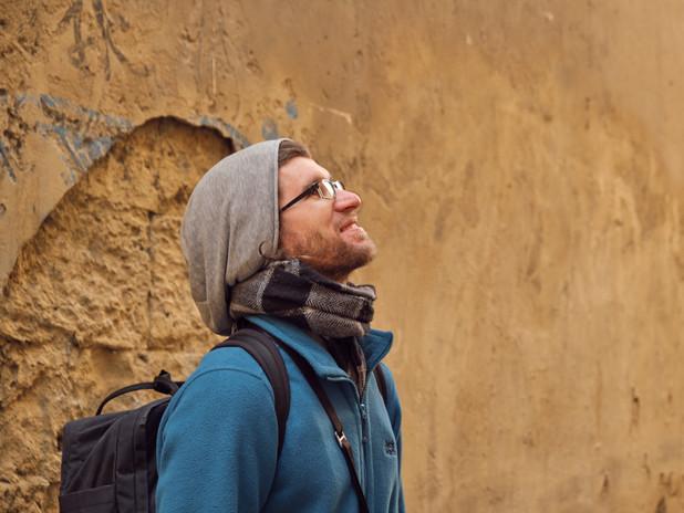 David unterwegs in Südfrankreich