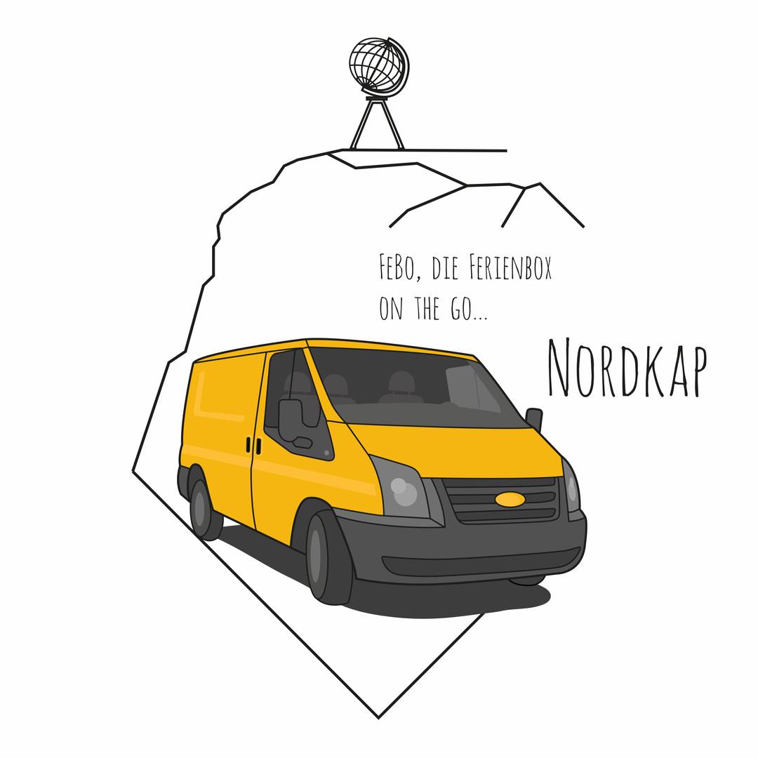 FeBo on the go: Nordkap