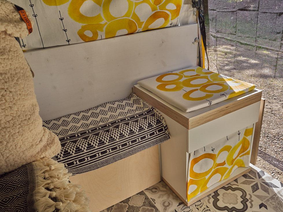 diy Camervan WC Box