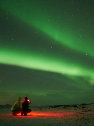 Catching Northern Lights