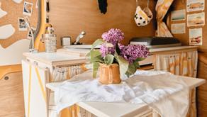 Unsere Tische im Campervan