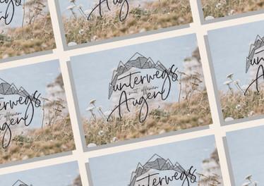 Postkarten Unterwegs mit offenen Augen