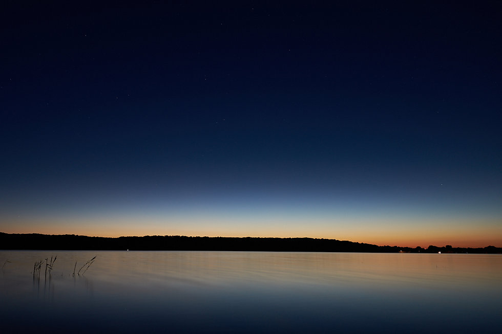 Titelbild blue lights by natalie krautkraemer