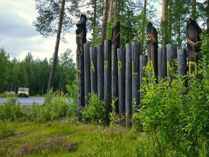 Willkommen in Lappland