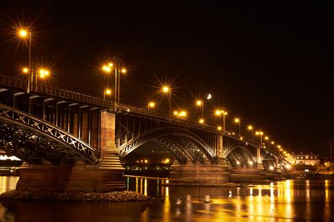 Mainz bei Nacht