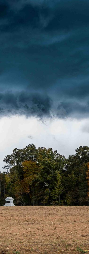Storm in Jones Field