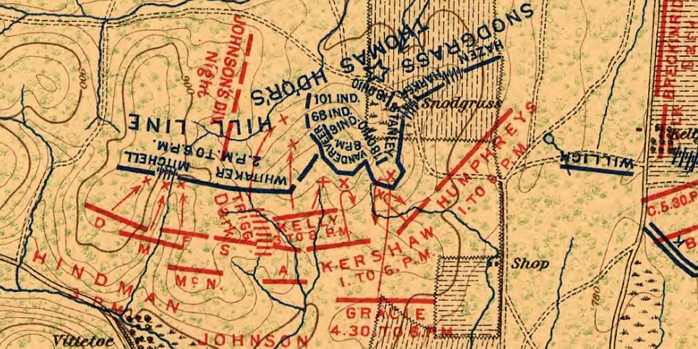 The Battle of Chickamauga - An Historic Walk of Snodgrass Hill and Horseshoe Ridge